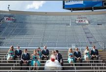 UW Camp Randall Stadium Weddings / Bridal portraits shot INSIDE UW's Camp Randall Stadium
