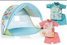 Preparados para o Sol ☀ ⛱ / #proteção #conjuntosbanho #anti-uv #acessóriospraia #tenda #praia #piscina #crianças, #bebés #pré-mamã #verão