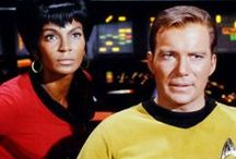 """otp: kirk and uhura / """"I'm thinking of all the times on the Enterprise when I was scared to death and I would see you so busy at your commands. And I would hear your voice from all the parts of the ship and my fears would fade. And now they are making me tremble. But I'm not afraid. I am not afraid..."""""""