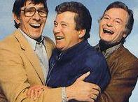 triumvirate / Kirk, Spock, & McCoy ~ Shatner, Nimoy, & Kelley