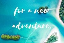 Words of Inspiration / Travel quotes to inspire you to get out and see the world!