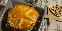 Entrées: quiches, pâtes, samoussas, oeufs...