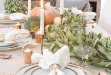Thanksgiving Survival Guide / From recipes to pretty decor and tabletop ideas, we've got you covered for Thanksgiving!