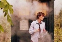 """doctor who / """"There's a man called THE DOCTOR. He lives on a cloud in the sky and all he does, all day, every day, is stop all the children in the world from ever having bad dreams."""""""