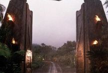 """aesthetic: jurassic park / """"life will find a way."""""""