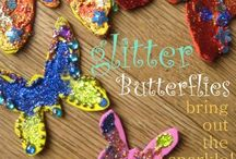 Butterflies- my guides / Whenever I see a butterfly I think of my dad and know I am on the right path.