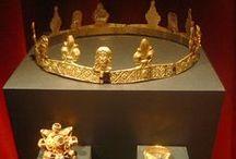 Circlets, Fillets & Crowns etc on Men & Women - Medieval