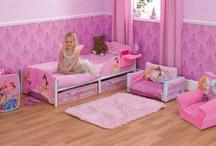 Chambre enfant Princesse / Un ensemble des plus beaux produits vendu sur www.bebegavroche.com pour une chambre  de princesse !