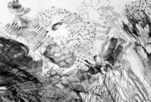 Gabrielle Jones Drawings / Drawings and Works on Paper by artist, Gabrielle Jones
