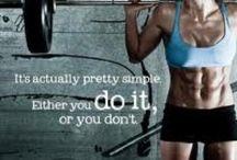 Motivation / Fitness motivation