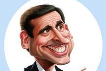 Caricature  / Caricature drawings/paintings