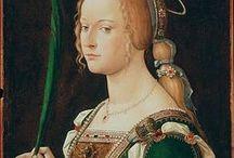 Cauls & Ornamented Veils - Medieval & Renaissance