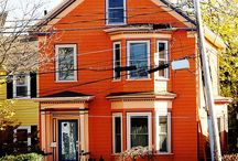 Houses and streets / Beautiful views