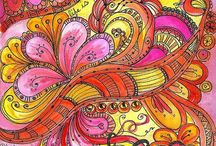 Zentangle and Doodle / Inspiration