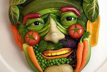 Food Art / Food and art collide