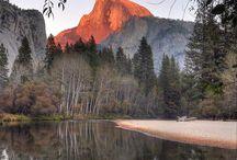 Halfdome / The Halfdome in Yosemite NP I like this view.