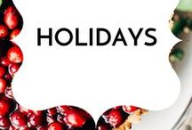 Holidays / Healthy gluten-free, dairy-free, low sugar real food holiday recipes.