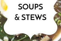 Soups & Stews / Healthy gluten-free, dairy-free, low sugar real food soup and stew recipes.