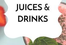 Juices & Drinks / Healthy gluten-free, dairy-free, low sugar real food juice and drink recipes.