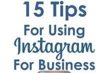 Instagram Board / How to grow your business from using Instagram.