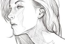 Tutorials - Sketch / Drawing / Learn to draw human bodies and stuff : drawing methods, anatomy refrences, proportions rules.