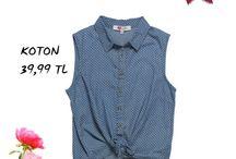 Koton / 1988 yılından beri Türk hazır giyim sektöründe faaliyet göstererek Türkiye'nin moda ve perakende öncülerinden biri kabul edilen Koton, sezon modasını özgün tasarımlarla buluşturduğu ürünleriyle Kasaba Mağazaları'nda..