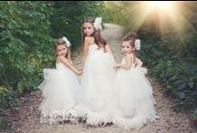 Flower Girls / Our new Formal Affair  Exquisite Wedding Line is a must have on your special day! These fabulous little items are perfect for a truly glamorous and unique wedding party.