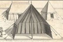 Tents and Market Stalls - Medieval