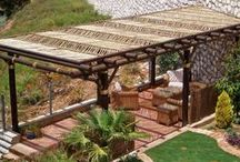 Pergola / Whether it is a private or commercial area that you want to transform by creating a walkway, special wooden pergola or watch tower or any other unique construction made from natural timber…and the end result needs to be a special design that are out of the ordinary.