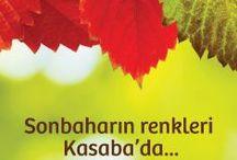 sonbahar / autumn-fall / Ve tüm güzelliğiyle sonbaharın renkleri Kasaba'da..   #sonbahar #yeni #renkler #fall #autumn #yenisezon
