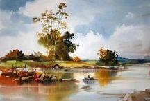 Art - Aquarelle landscapes