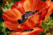 Art - Aquarelle florals
