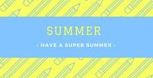 Have a Super Summer / This is a board for elementary classroom ideas and resources to use in the summer.  Please pin 3 ideas or freebies for every 1 product.  Please repin one product for each product you post.