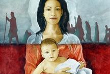 Imágenes Calendarios Salesianos / Imágenes del pintor Umberto Gamba para calendarios salesianos. www.umbertogamba.it