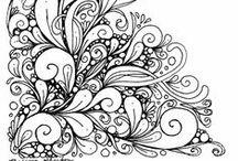 doodles, mandalas & cie