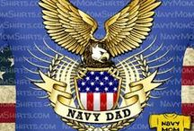 NAVY DAD / US Navy Dad Shirts, Art, Navy Gifts and Goodies for Navy Dads - #NavyDads  #NavyDad