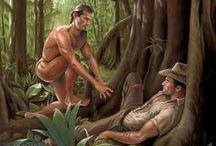 Mickael Breyette / #gay #drawing #homosexual #bisexual #art #nude