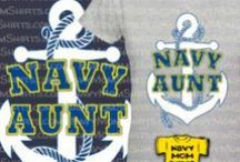 Navy Aunt & Navy Uncle / Cool shirts and stuff for Navy Aunt & Navy Uncle