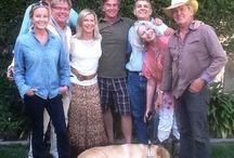 Olivia Newton-John & friends! / Olivia Newton John with her family and friends!
