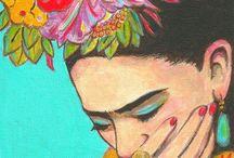 Frieda Kahlo & Diego Rivera.