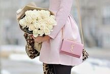 Fashion and Beauty / Flowing dresses, stunning purses, amazing makeup and sparkling jewelry.