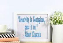 Creativity Quotes / Inspirational quotes for creativity...You can follow me on:  http://theartofcreativitystudio.blogspot.co.za
