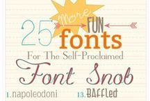 Fonts, Typeface and Lettering / Who doesn't love more fonts, typeface and lettering for your creative masterpieces...You can follow me on:  http://theartofcreativitystudio.blogspot.co.za
