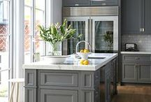 Trends - Kitchens / Current  trends and classic inspiration for kitchen design and function
