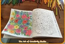 Therapeutic Adult Colouring / Free Printable Colouring Pages for Adults..Follow me on:  http://theartofcreativitystudio.blogspot.co.za