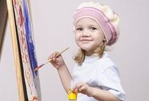 Art courses for small children / art courses for children and toddlers