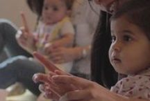 Courses for babies / Courses for babies and toddlers: awakening to mouvement, awakening to music, awakening to dance, ....
