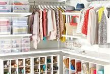 Home - Dressing room / girls need their own space, you know what I mean - dresses, shoes, vanity table with makeup...
