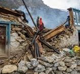 Erdbeben / Earthquake 2015 Nepal Reise Report / Erdbeben in Npal, beim Trekking erwischt, Glück im Unglück, gerettet