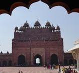 Fatehpur Sikri / India Reise Report / ein Monument der besonderen Art, die gut erhaltene Anlage Fatehpur Sikri